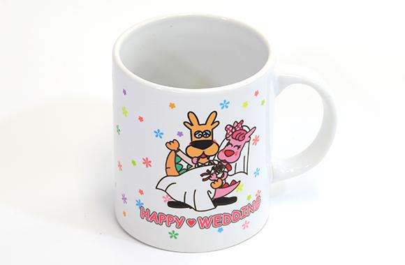 ガウラ マグカップ(ウェディング)